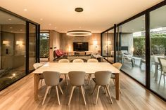 Completed in 2019 in Mendoza, Argentina. Images by Arq Luis Abba. The project is located in a suburban area of the city of Mendoza and is part of a reflection on isolated houses that we have been developing for some. Dona Carolina, Axonometric View, Luxury Lifestyle Women, Exposed Concrete, Architect House, Modern Exterior, Open Plan Living, Contemporary Decor, Ground Floor