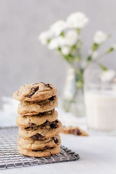 There is no denying that these cookie butter cookies are the most amazing thing to happen to cookies BISCOFF Great Desserts, Best Dessert Recipes, Sweet Recipes, Thumbprint Cookies Recipe, Butter Cookies Recipe, Delicious Cookie Recipes, Baking Recipes, Kitchen Recipes, Tea Cakes