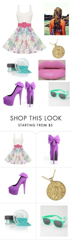 """Falling For Ya'"" by insertspiffynamehere ❤ liked on Polyvore featuring Alice + Olivia, Giuseppe Zanotti and Urban Decay"