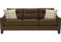 Shop for a Cindy Crawford Home Montclair Espresso Sofa at Rooms To Go. Find iSOFA Hidden that will look great in your home and complement the rest of your furniture.