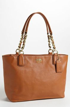 0c17c3bc2b56 COACH  Madison  Leather Tote available at  Nordstrom Coach Purses