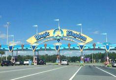 Entering the Magic Kingdom!!!