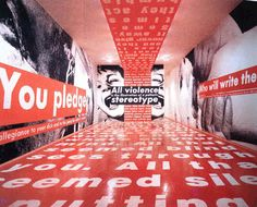 Trixie's Treats: Collage Artist: Barbara Kruger
