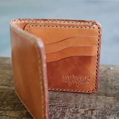 Proud to present the Ellis Wallet, our new 9-pocket bifold coming next month as a part of our new lineup! #loyalstricklin #leather #wallet
