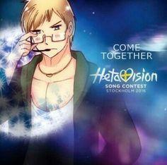 Hetavision • Hetalia's Eurovision • Sweden<Watching Eurovision on TV right now!!❤️ -Nora