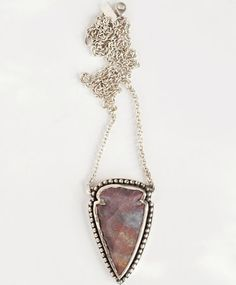 Jasper Arrowhead Pendant by Pamela Love