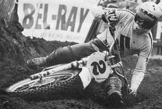Roger Decoster bar dragging