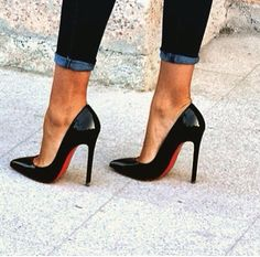 Can't do without my heels !!