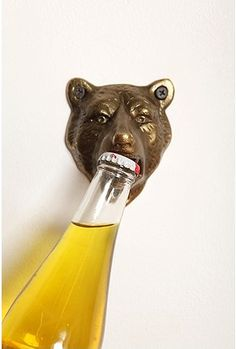 What a fun design this is! Bear bottle opener