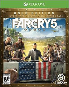 farcry5gamer.comFar Cry 5 Steelbook - Xbox One Gold Edition Price:     Welcome to Hope County, Montana, land of the free and the brave, but also home to a fanatical doomsday cult known as Eden's Gate. Stand up to the cult's leader, Joseph Seed, his siblings, the Heralds, and spark the fires of resistance that will liberate your besieged community.http://farcry5gamer.com/far-cry-5-steelbook-xbox-one-gold-edition/