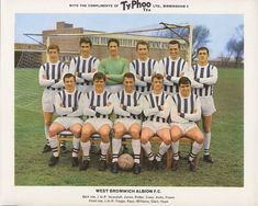 West Brom team group in Retro Football, World Football, Football Kits, Football Cards, Football Players, West Bromwich Albion Fc, Typhoo, Association Football, Most Popular Sports