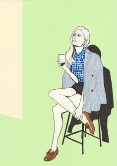 + Illustrations 2011: Iekeline Stange - Daphne van den Heuvel