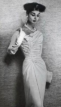Jacques Fath dress 1956