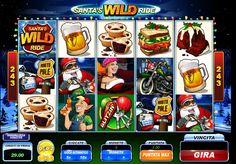 Santas Wild Ride online video slot by Microgaming. Casino Cruise, Top Casino, Best Casino, Free Slot Games, Free Slots, Game Slot, Indian Video Song, Fortune Cookie, Slot Online