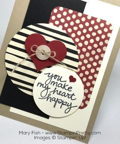 Stampin Up Lovely Amazing You Sweetheart Punch Mojo Monday By Mary Fish. Farmers market dap