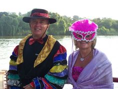 Playing dress up to suite theme Playing Dress Up, Corporate Events, Captain Hat, Hats, Dresses, Fashion, Vestidos, Moda, Hat
