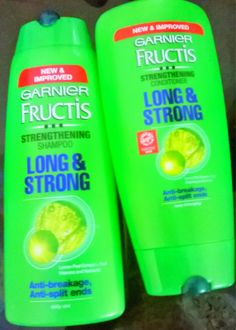 Garnier Fructis Long & Strong Shampoo & Conditione...I can never find it to buy more. It is by far the best shampoo and conditioner for me