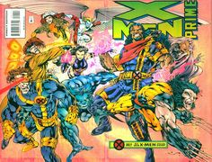 X-Men Prime by Bryan Hitch & Paul Neary