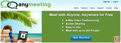 Try AnyMeeting as a FREE alternative to GoToMeeting and WebEx.