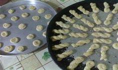 Peynirli Örgülü Çörekler