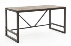 Modern industrial writing desk Great furniture on WeirsFurniture.com! Dallas, Plano & Southlake Texas