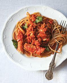 Crabs and Spaghetti