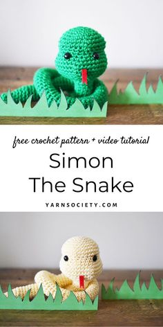 Crochet with me in this step-by-step crochet along video tutorial. Grab the free crochet pattern on yarnsociety.com Crochet Simple, Crochet Diy, Crochet Hook Set, Crochet Patterns Amigurumi, Crochet Crafts, Crochet Dolls, Crochet Projects, Sewing Projects, Learn Crochet