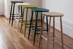 Made with your comfort in mind, the Ercol Originals bar stool comes with a moulded shape in the seat. Ideal for any style of home decor this Ercol bar stool is perfect for situating at the breakfast bar.Dimensions: x x Ercol bar. Oak Bar Stools, Modern Bar Stools, Bar Chairs, Counter Stools, Dining Chairs, Room Chairs, Wooden Kitchen Stools, Office Chairs, Lounge Chairs