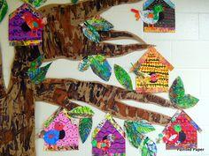 3rd grade bird houses | Flickr - Photo Sharing!