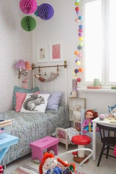 Eclectic girls room