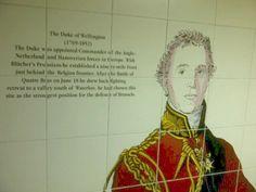 Hyde Park Corner Station - Battle of Waterloo - London