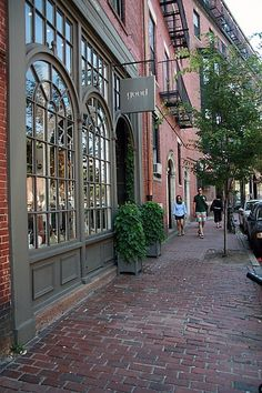 Beacon Hill, Boston - Beautiful spot to tour the homes!