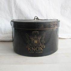 Knox NY Hatbox now featured on Fab.