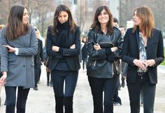Speaking of uniforms - these are the editors and stylists of French Vogue. Proof that simple is always stylish - click through for a great round up of classic French chic. I could live in every one of the outfits pictured.