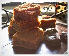 Salted Chocolate Caramel Blondies • Blondies