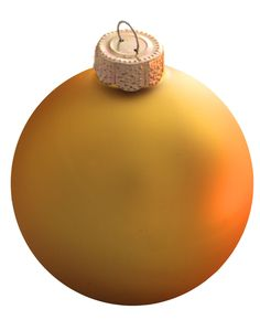sun yellow glass ball christmas ornament - Yellow Christmas Decorations