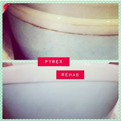 Bar Keepers Friend and Vintage Pyrex