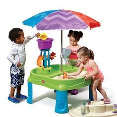 Splash & Scoop Bay with Umbrella™ by Step2 is one of most popular Sand & Water Play products for children. View and shop now