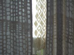 Felted Curtains