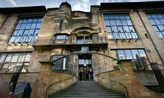 Glasgow College of Arts Library (exterior)