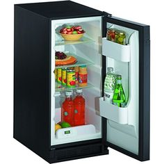 U-Line 1115RS00 3.3 Cu. Ft. Stainless Steel Undercounter Built-In Compact Refrigerator - Energy Star - Right Hinge * Read more  at the image link.