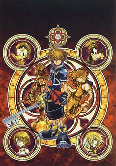Kingdom Hearts II - Promotional Art