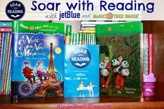calling all Magic Tree House fans - #SoarwithReading this summer as you follow Jack & Annie on special adventures with #JetBlue and donate books to children in need! #sponsored #MC
