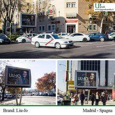 Brand: Liu-Jo - Città Madrid #LiuJouomo #liujo #abbigliamento #spagna #madrid #fashion #moda #adv www.upgrademedia.it
