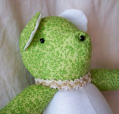 Clover the Little Bear by ellemardesigns on Etsy, $10.00