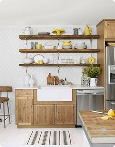Kitchen Wall Rack Shelves Ideas Open Shelving Home Depot Cabinets For Base Awesome