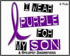 November is Epilepsy Awareness Month.