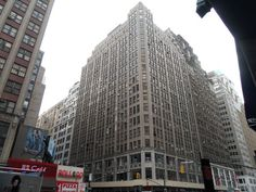 38th and 8th, Lebros Building, NYC, NY