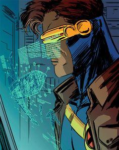 cyclops x-men gif - Bing Images Xmen Comics, Marvel X, Marvel Heroes, Cyclops X Men, The Uncanny, Vintage Comics, Comic Books Art, Book Art, Marvel Characters