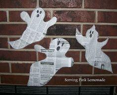 Newspaper ghost craft